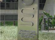 Totem Vertical em Inox Prefeitura Campinas