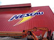 Impressão direta UV em ACM (chapa de 5m) – Nestlé